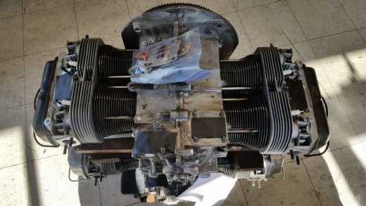 Above view of engine