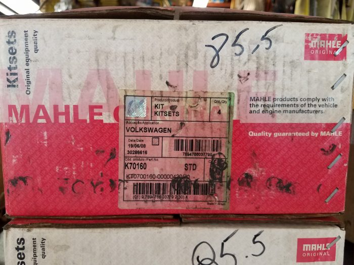 Mahle box for Piston and Cylinder set